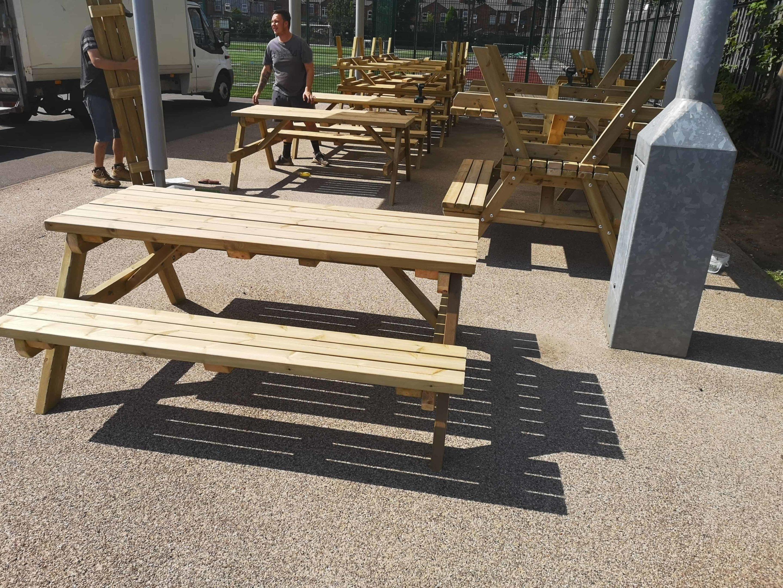 Admirable Pub Garden Furniture Heavy Duty Beer Garden Tables Online Customarchery Wood Chair Design Ideas Customarcherynet