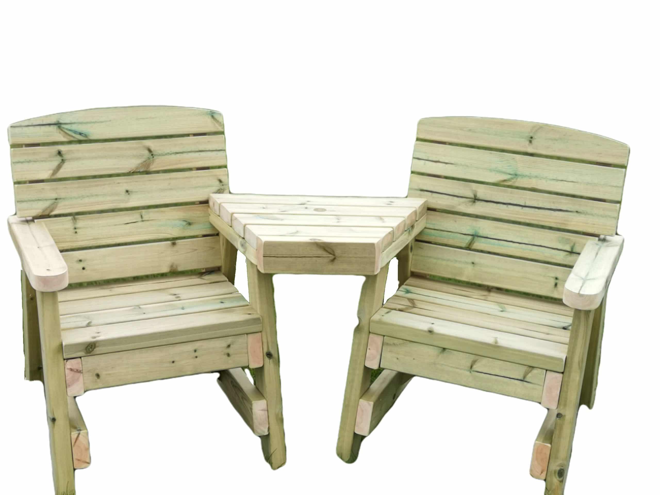 Wooden Love Seat Garden Love Seat Handmade In The Uk