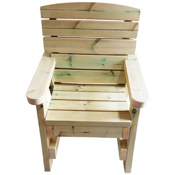 Garden chair made from Swedish redwood