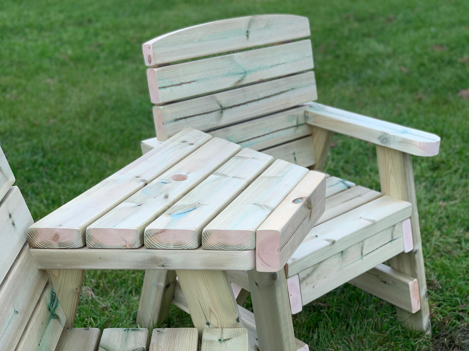 Wooden Love Seat Garden Love Seat Handmade In The Uk