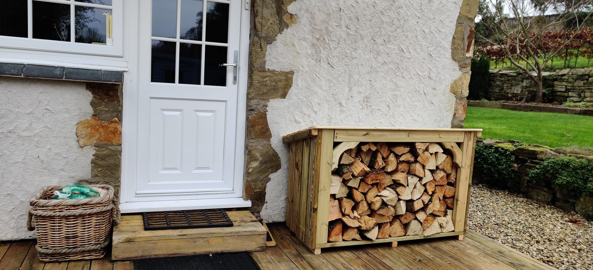 Mejore su hogar con una tienda de troncos de Coppice de calidad