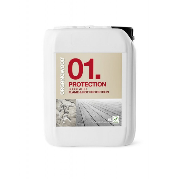 Organowood 01 Fossilated Flame & Rot Protection