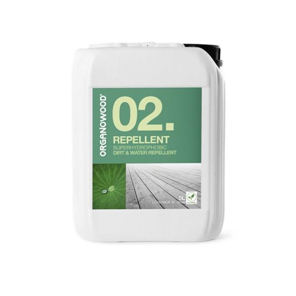 Organowood 02 Superhydrophobic Dirt & Water Repellent
