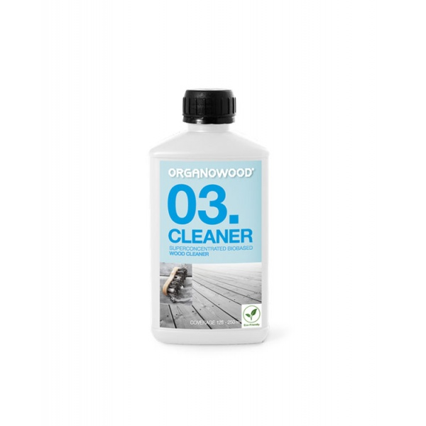 Organowood 03 Superconcentrated Biobased Wood Cleaner