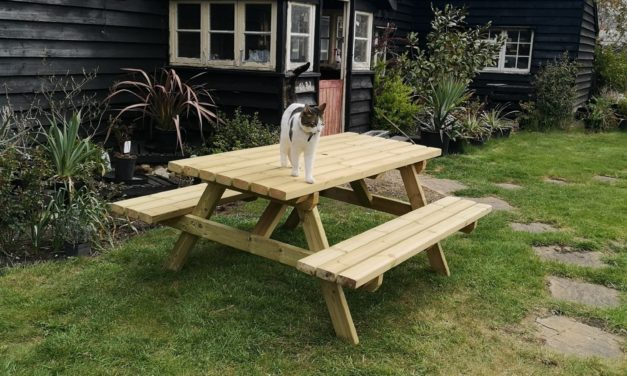 How To Keep Your Wooden Garden Furniture Safe From Pets